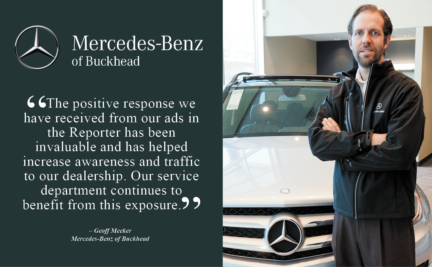 Advertise with us reporter newspapers for Mercedes benz of buckhead