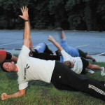 Weekday warriors train for fitness at Briarwood Park boot camp