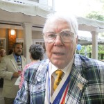Milton Gorman at the Sandy Springs Kiwanis Club's 60th birthday celebration on June16 at the Williams Payne Garden Room at Heritage Sandy Springs.