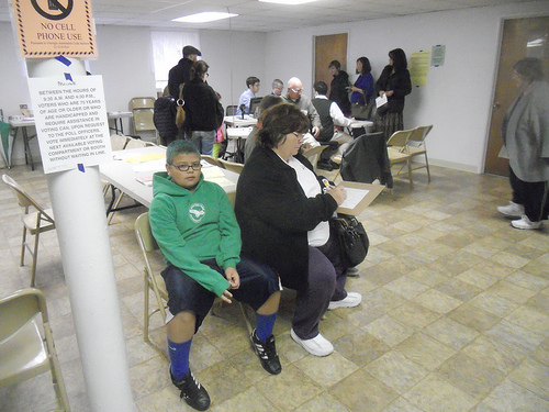 Voters stream to polls to choose president, Brookhaven officials
