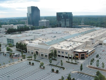 Lenox Square mall in Buckhead is one of the largest shopping centers in the Southeast. Shoplifting at the mall was lower in 2012 compared with 2011.