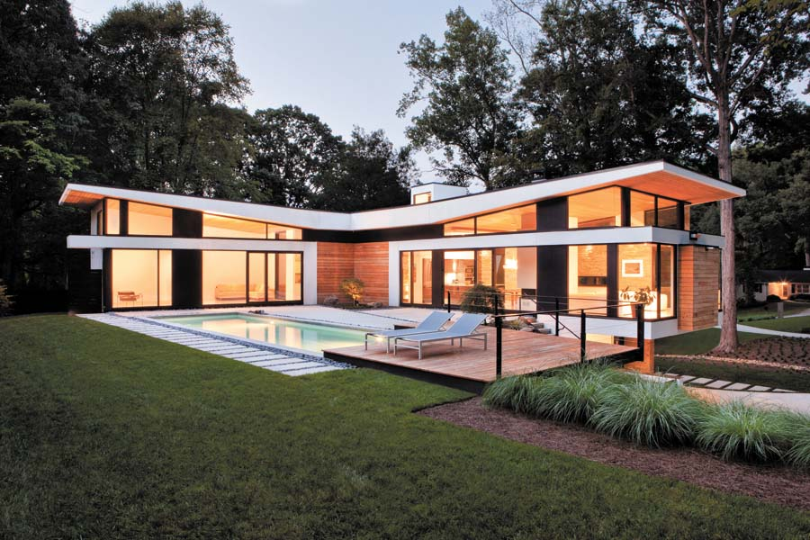 Modern homes skyscrapercity Contemporary homes atlanta