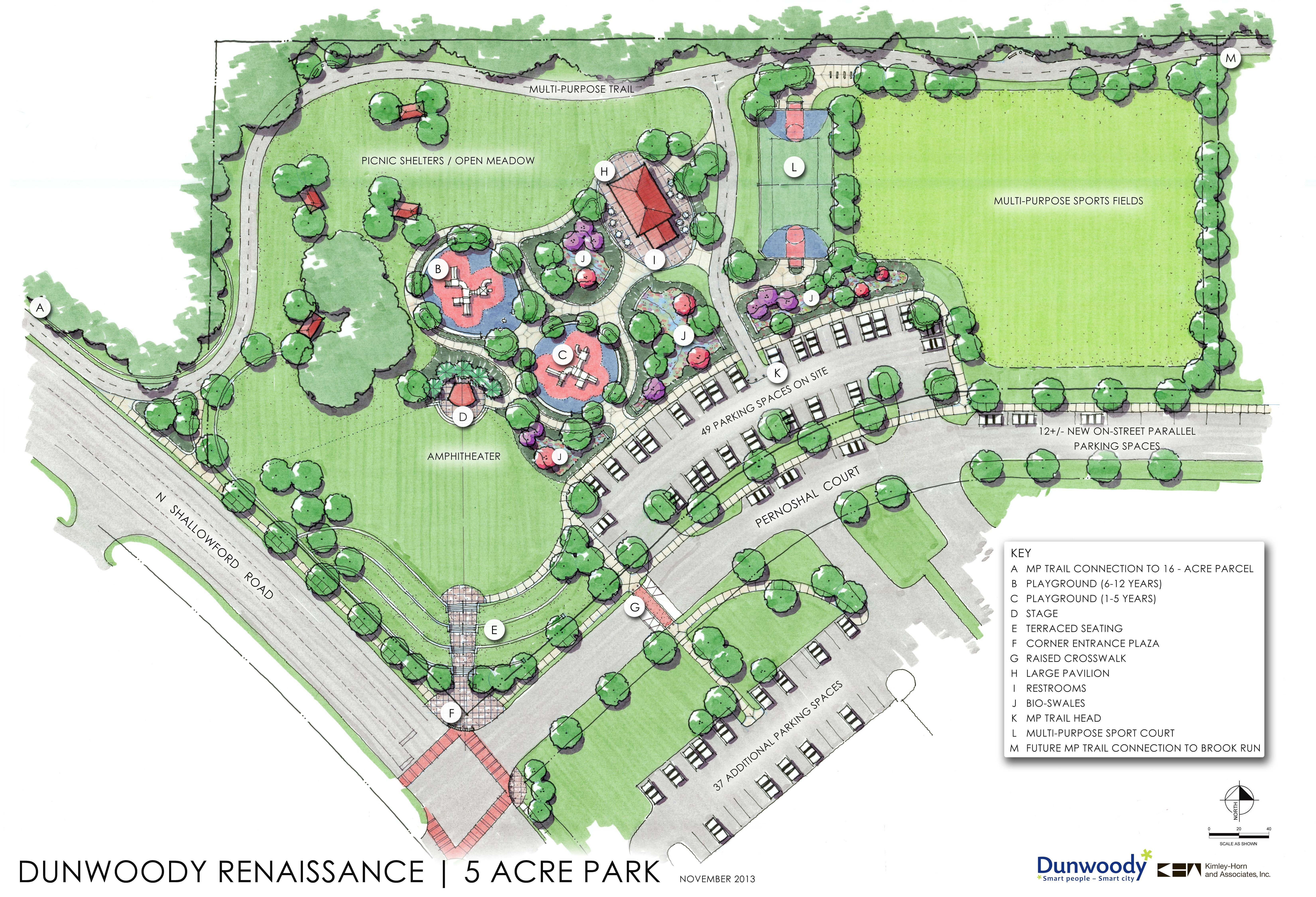 Dunwoody Residents Can Weigh In On New Park Plan Nov