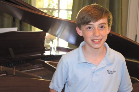 Jack Joyce, after he learned one of his friends had diabetes, wanted to help. When a birthday party fundraiser didn't meet expectations, Jack decided to hold a piano concert, featuring performers aged 7-17, on May 10, at Northside Drive Baptist Church.
