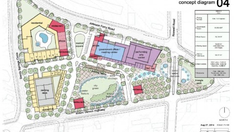 Sandy Springs to host charrette on performing arts center