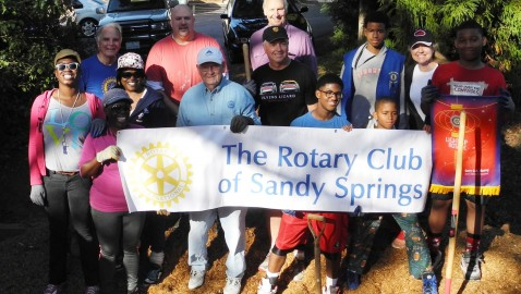 Volunteers join first North Fulton Serves day
