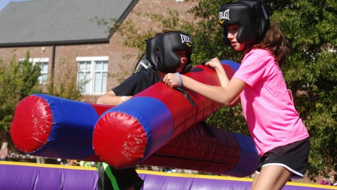 Peachtree Charter Middle holds fall festival to raise money for school musical