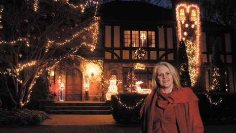 Holiday lights make communities sparkle