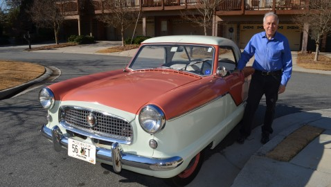 Sandy Springs resident winds up with his favorite toy car