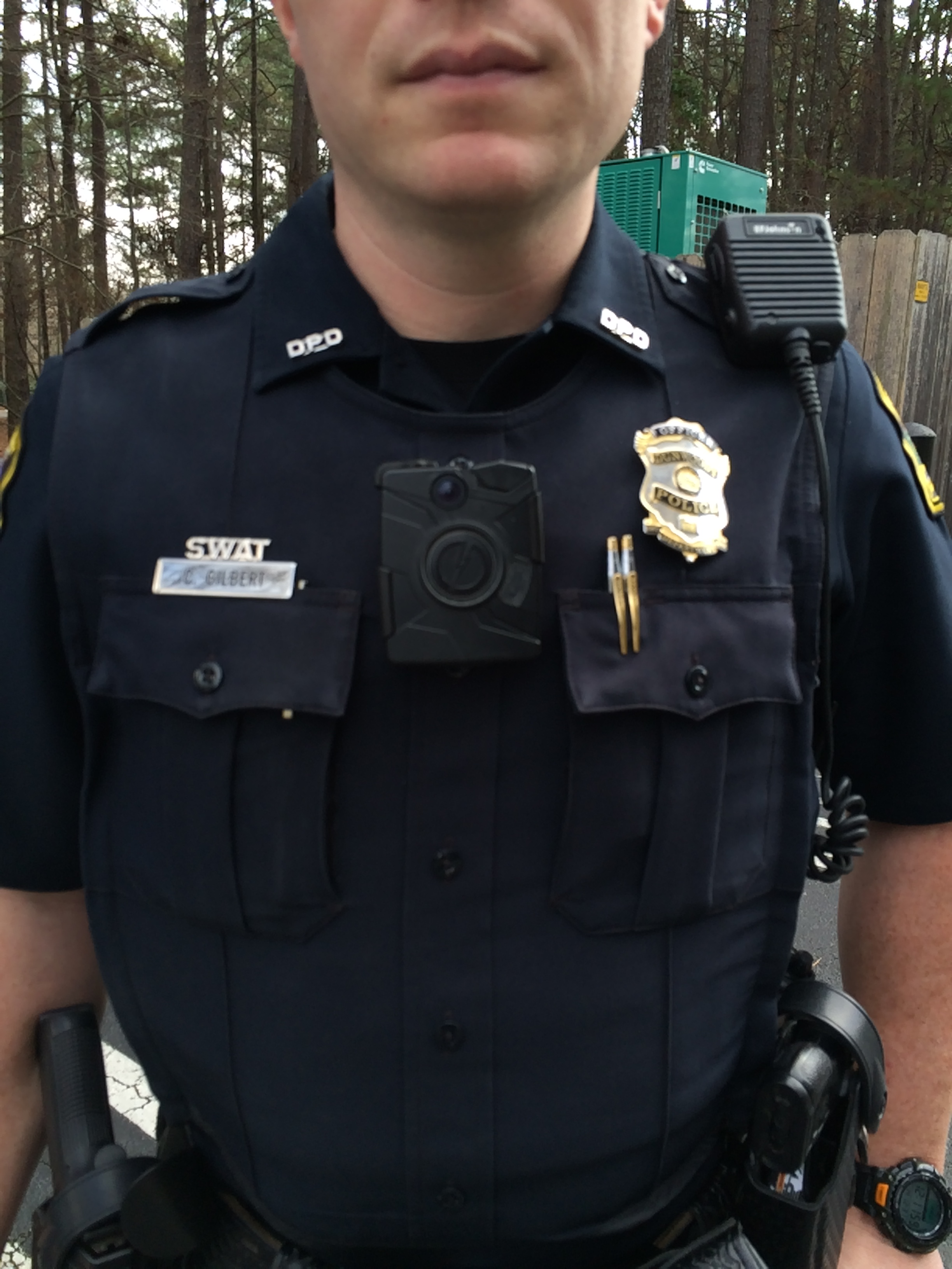 Some local police considering adopting on-body cameras soon ...
