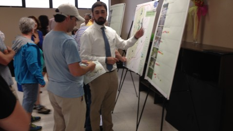 Brookhaven residents check out plans for bike and pedestrian trails