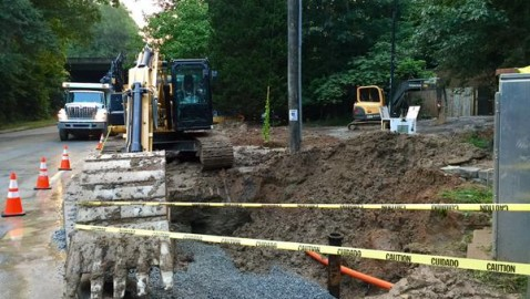 Update: DeKalb water main repaired, but questions linger about response