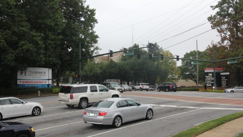 Pill Hill hospitals, Sandy Springs to coordinate traffic plans