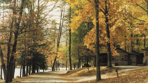 State parks provide public places to admire autumn leaves