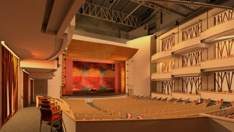 City Springs theater gets a name and musical company