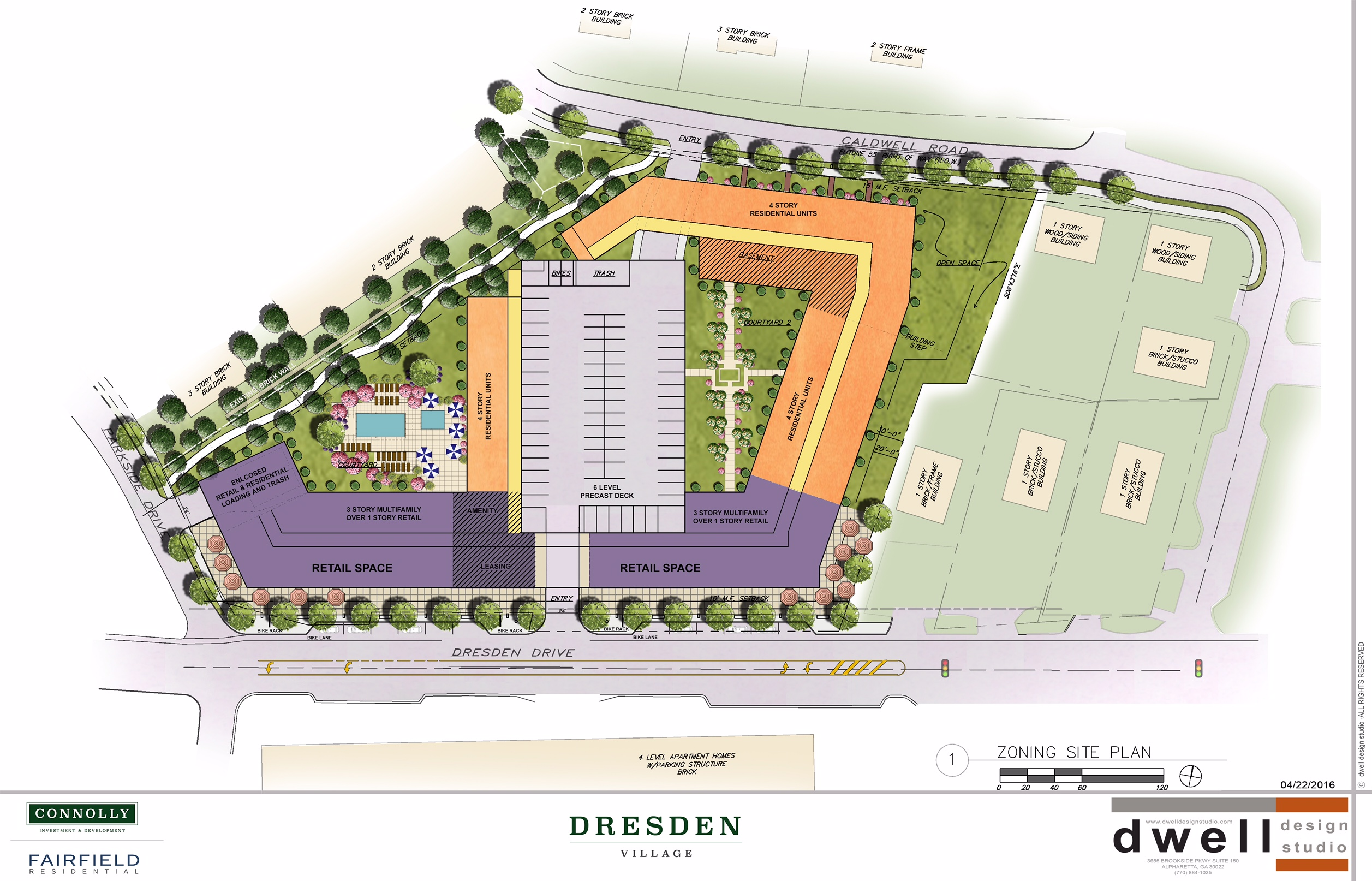 Brookhaven 39 s 39 dresden village 39 developers again delay for Website planning software