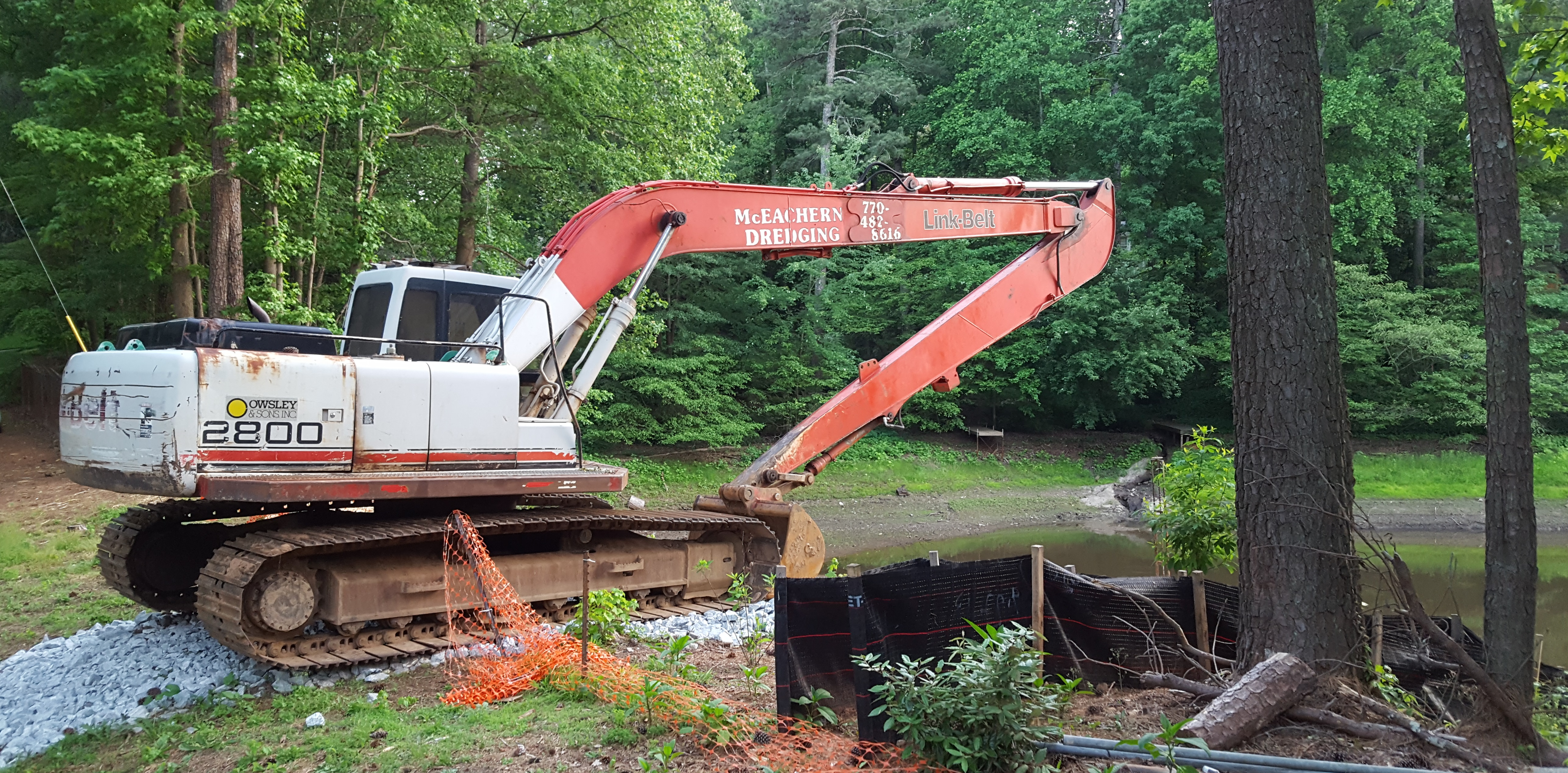 Next step in Lake Forrest Dam repair: Watch lake dry up