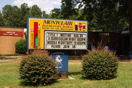 Montclair Elementary School in Brookhaven, considered a chronically failing school, is on the list for a possible state takeover if the Opportunity School District amendment is approved. (Photo Phil Mosier)
