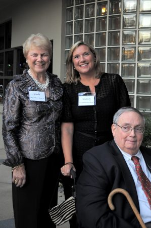 From left, Linda Booth, Kimberly Booth Rimmer and the late Dr. Authur Booth, who will be honored along with three others, at a gala and fundraiser on Oct.27 to celebrate Hospice Atlanta Center's 20th anniversary. (Special)