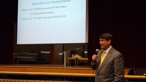 Hundreds voice concerns about Braves stadium traffic at Sandy Springs forum