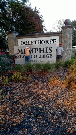 "Brookhaven's Oglethorpe University becomes ""Memphis University"" for filming of the 2015 movie ""National Lampoon's Vacation."""