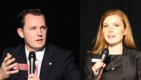 Taylor Bennett, Meagan Hanson face off in House District 80 debate