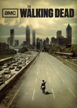 "Heyward Wescott, chair of the Dunwoody Perimeter Chamber of Commerce, has made prop signs for the hit TV series ""The Walking Dead."""
