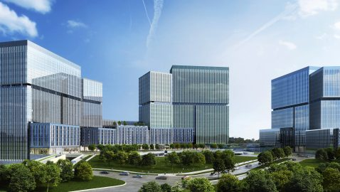 One building down, two to rise at State Farm's Dunwoody site