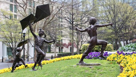 'The Storyteller' and other public sculpture to visit in Buckhead