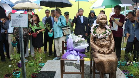 'Comfort women' memorial to be relocated to Brookhaven's Blackburn Park