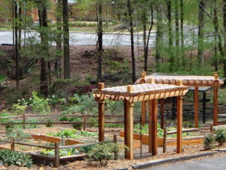 The Community Garden At Briarwood Park In Brookhaven. (Briarwood Park)