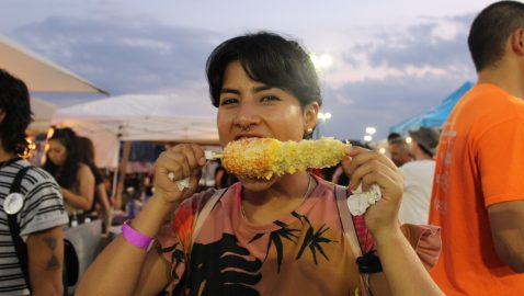 Scenes from Buford Highway block party, night market