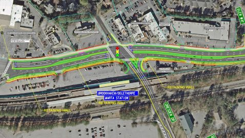 GDOT proposes major changes to Peachtree Road in Brookhaven