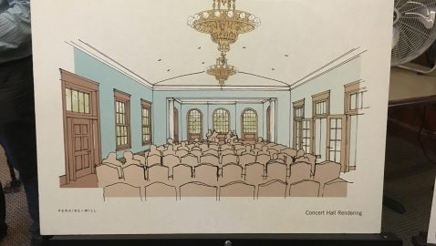 Group proposes recital hall in Bobby Jones clubhouse
