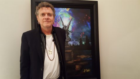 Def Leppard drummer draws crowd to Perimeter Mall gallery