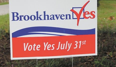 A path to the future: Brookhaven's journey from 'Yes' to the Greenway