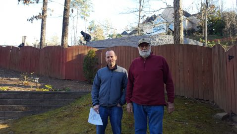 Sandy Springs neighbors outraged by football star's backyard ball-tossing project