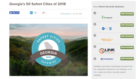 'Safest cities' website rankings don't mean much, expert says