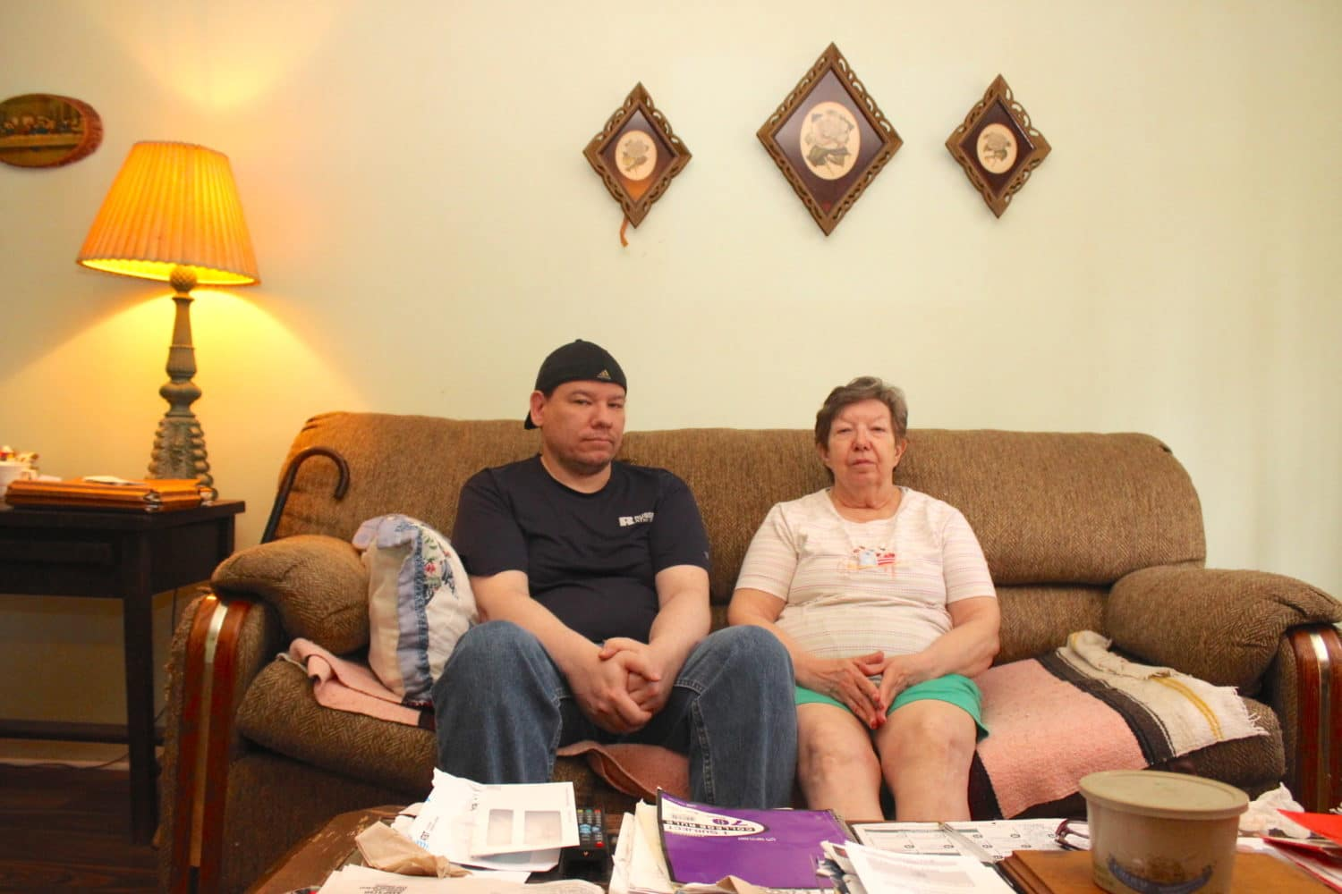 Myrtle Goodman, 73, And Her Son, Walter, 41, Have Lived In Their Apartment  On Buford Highway For 18 Years. Threats Of Rising Rents Have Them Worried  They ...