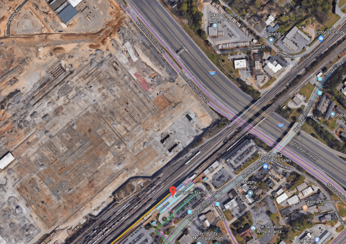 GDOT takes part of Doraville's Assembly site for massive