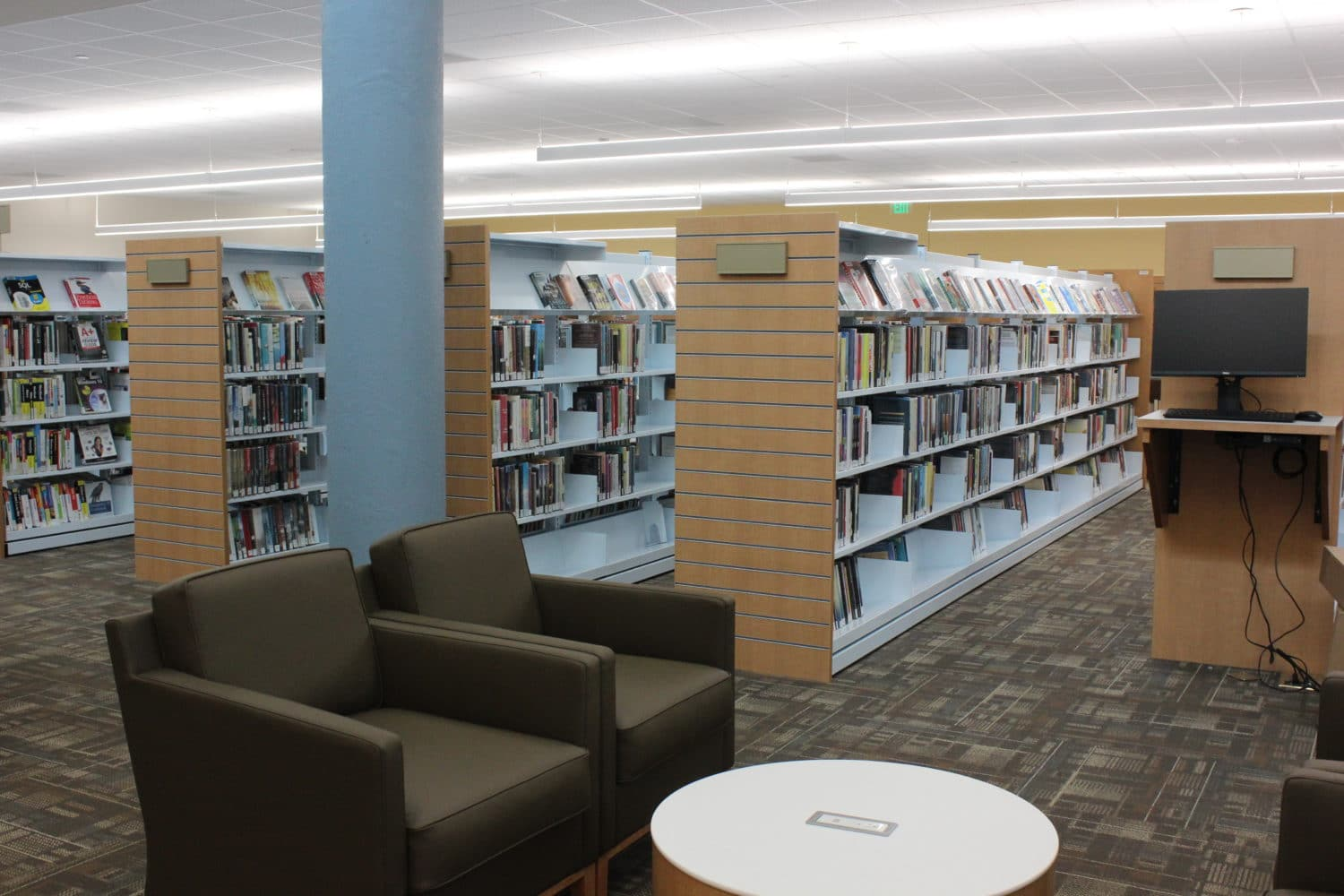 Renovated Sandy Springs Library reopens with new meeting